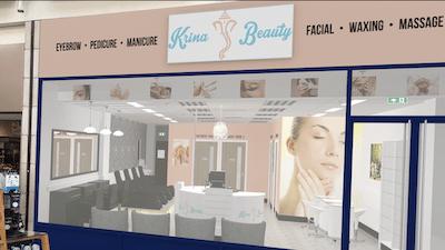 Krina Beauty open their full salon