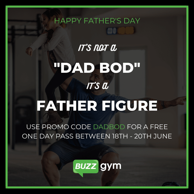 It's not a 'Dad Bod,' it's a Father figure!
