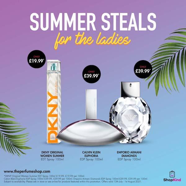 Ladies' Summer Steals